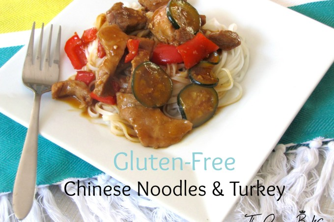 What's For Dinner Wednesday:  Gluten-Free Chinese Noodles & Turkey