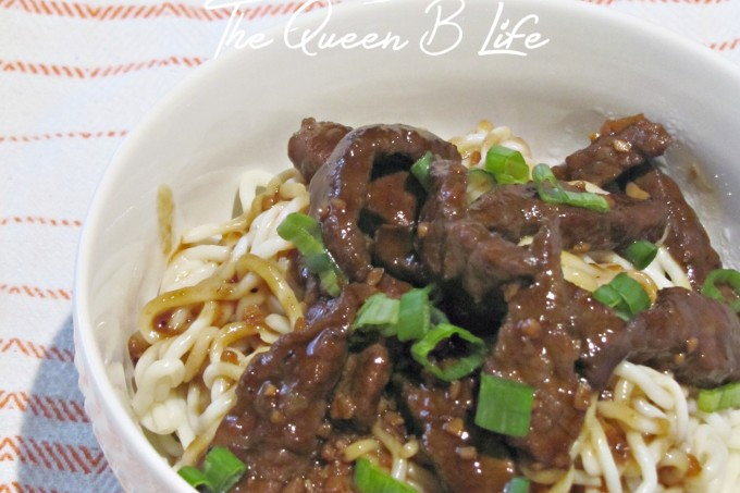{Gluten-Free} Korean BBQ Beef Bowl