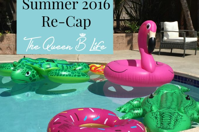 Summer 2016 Re-Cap